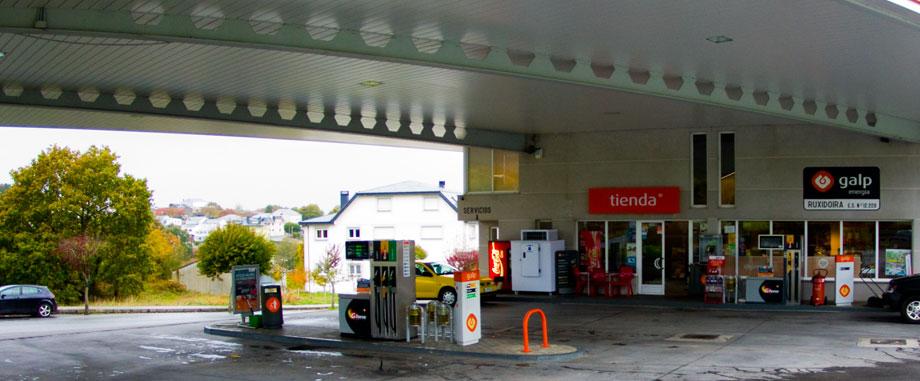 Estación de servicios Galp Ruxidoira