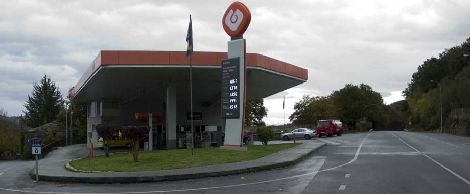 Gasolinera Galp Ruxidoira