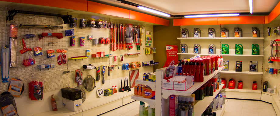 Tienda estación de servicios ruxidoira Lugo