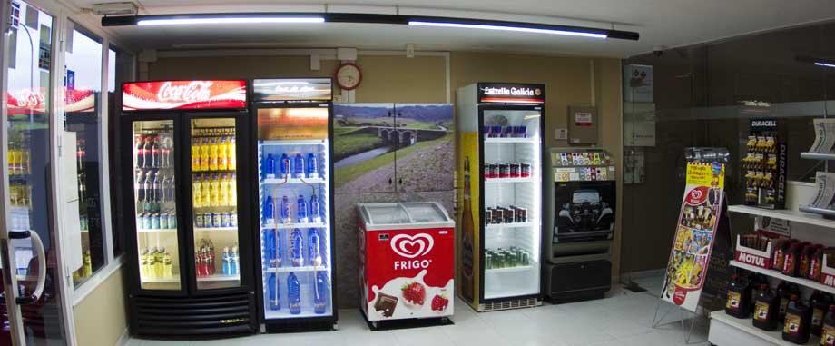 Tienda gasolinera Ruxidoira Lugo